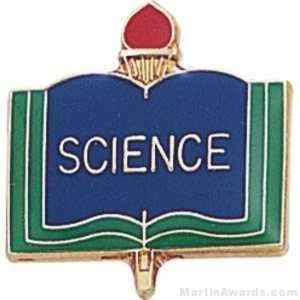 "3/4"" Science School Award Pins"