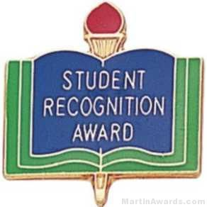 """3/4"""" Student Recognition Award Pin"""