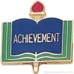 3/4″ Achievement School Award Pins 1
