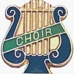 5/8″ Enameled Choir Music Pin 1