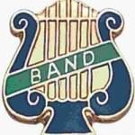 5/8″ Enameled Band Music Pin 1