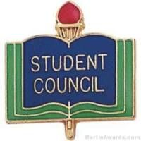 "3/4"" Student Council School Award Pins"