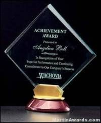 Bella Diamond Series Acrylic Award